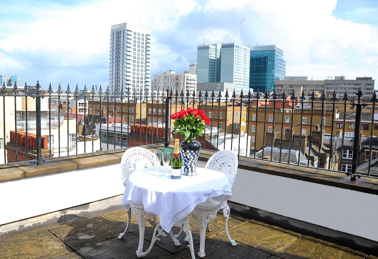 Park Lane City Apartments, London, Katusekorter, 2 magamistoaga, Rõdu
