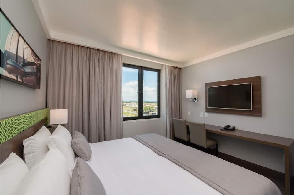 ห้องสแตนดาร์ดดับเบิล, เตียงใหญ่ 1 เตียง - ห้องพัก