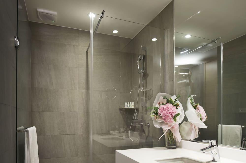 スタンダード ルーム ダブルベッド 1 台 バリアフリー - バスルーム