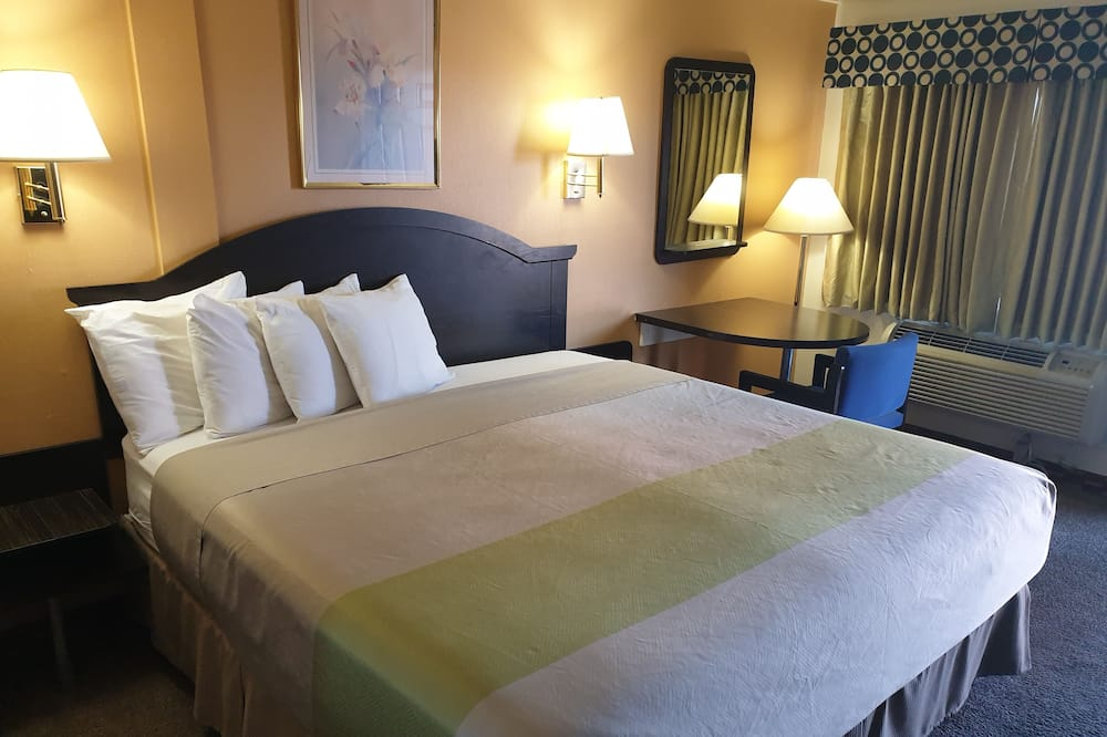 חדר, מיטת קינג, ללא עישון - סלון