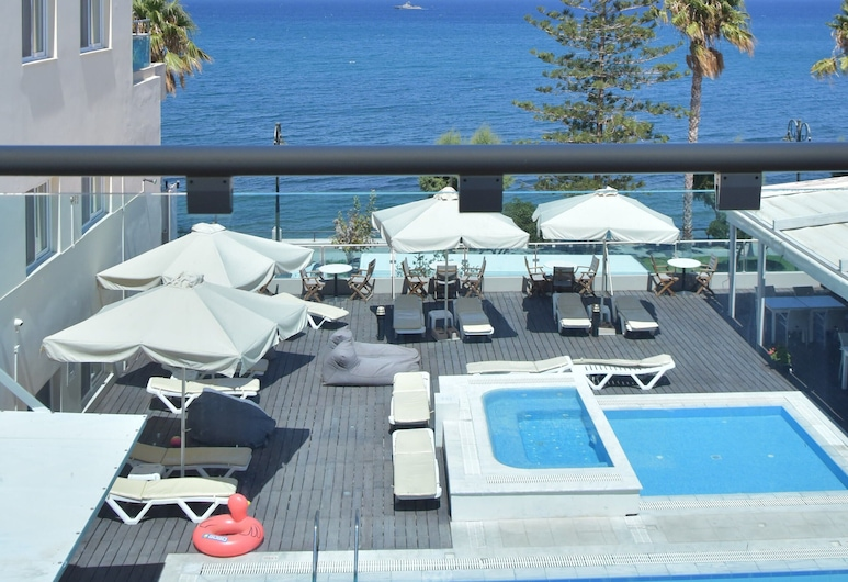 Bristol Sea View Apartments, Kos, Apartment, Meerblick (3 people), Pool
