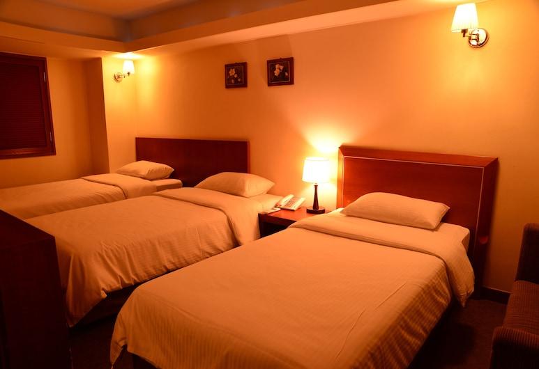New Korea Hotel, Soul, Kolmen hengen huone, Vierashuone