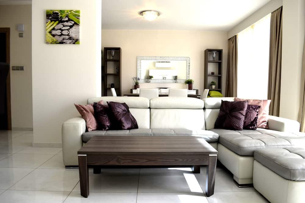 Dzīvokļnumurs, divas guļamistabas, skats uz jūru - Dzīvojamā zona