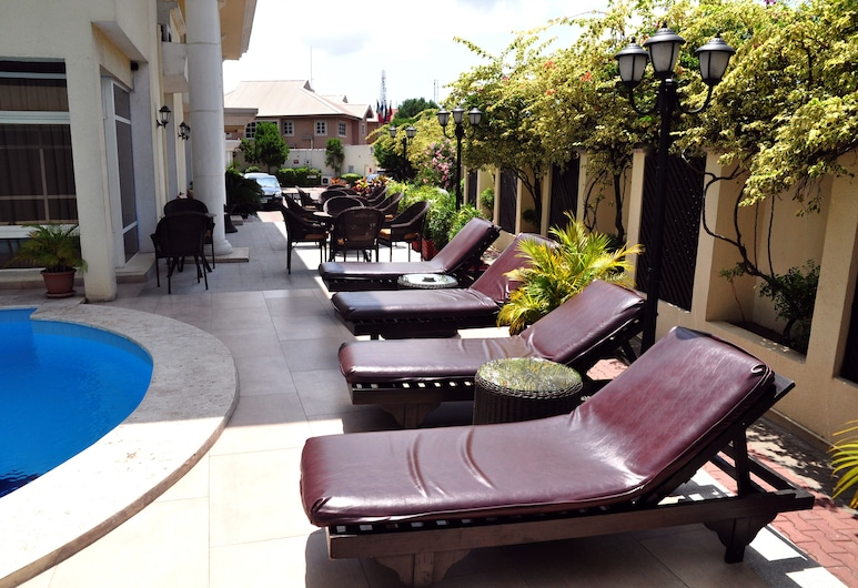 Elion House Hotel, Λάγος, Αίθριο/βεράντα