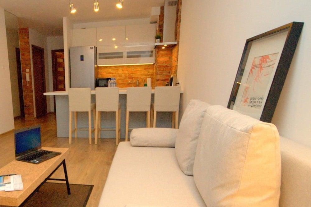 Dzīvokļnumurs, viena guļamistaba, terase (Moraine Hill) - Dzīvojamā zona