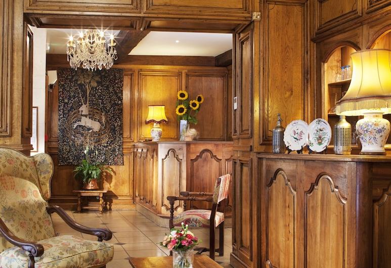 Hôtel Left Bank Saint Germain, Paris, Vestibyle