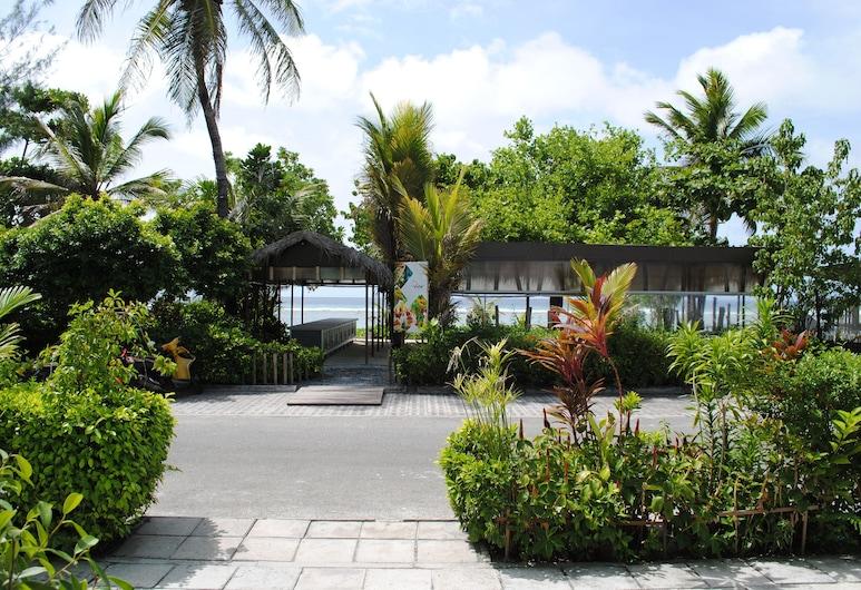 Beach Sunrise Inn, Hulhumalé, Facciata hotel