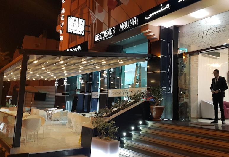Appart hotel MOUNA, Marrakesch, Fassade der Unterkunft