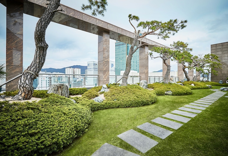 아르반호텔, 부산광역시, 정원