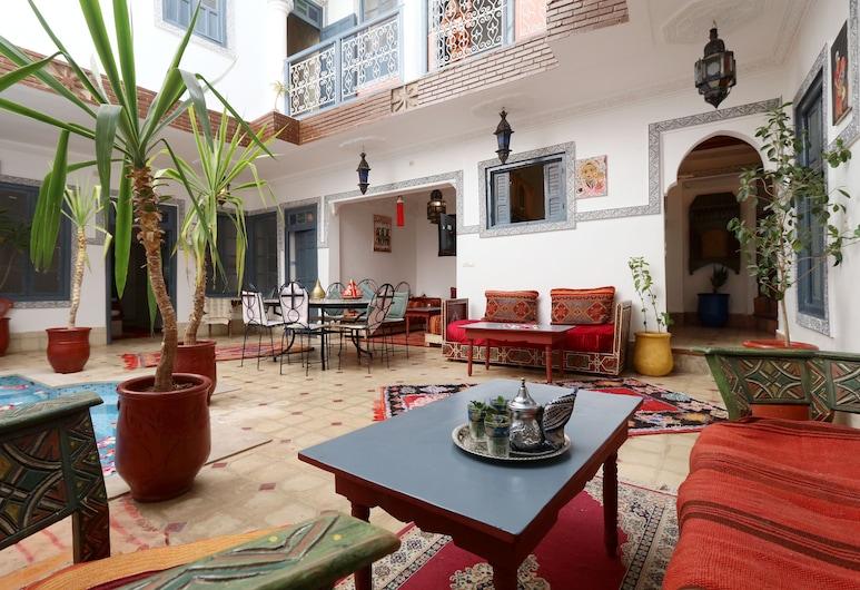 卡普里庭院酒店, 馬拉喀什, 入口