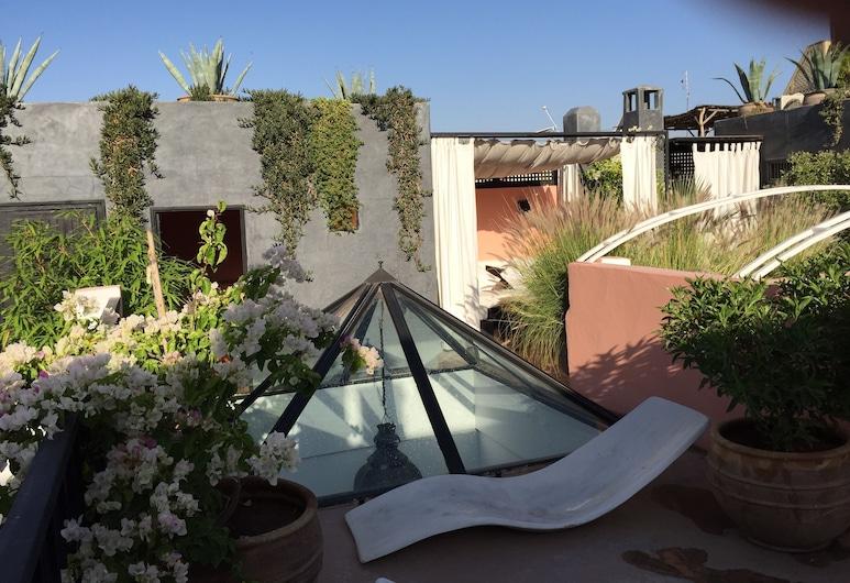 里亞德薩法庭院旅館, Marrakech, 露台