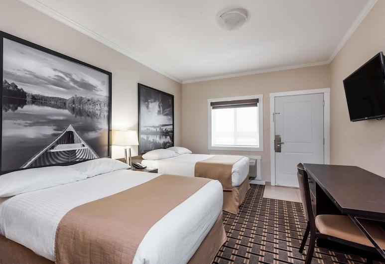 Super 8 by Wyndham Watrous, วาทรัส, ห้องพัก, เตียงควีนไซส์ 2 เตียง, ปลอดบุหรี่, ห้องพัก