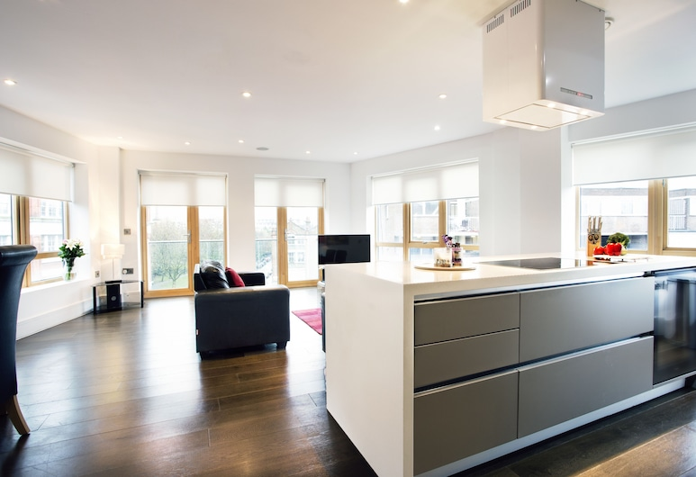 Clerkenwell One, London, Apartment, 2 Bedrooms, Living Room