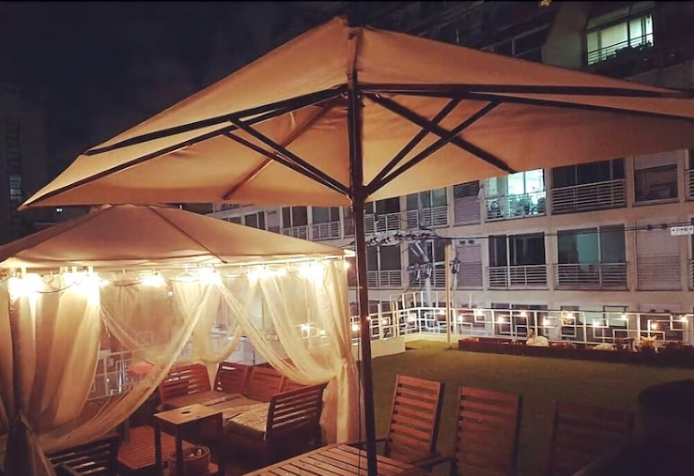 SAEWHA HOSTEL, Seoul, Double Room, 1 Double Bed, Terrace/Patio