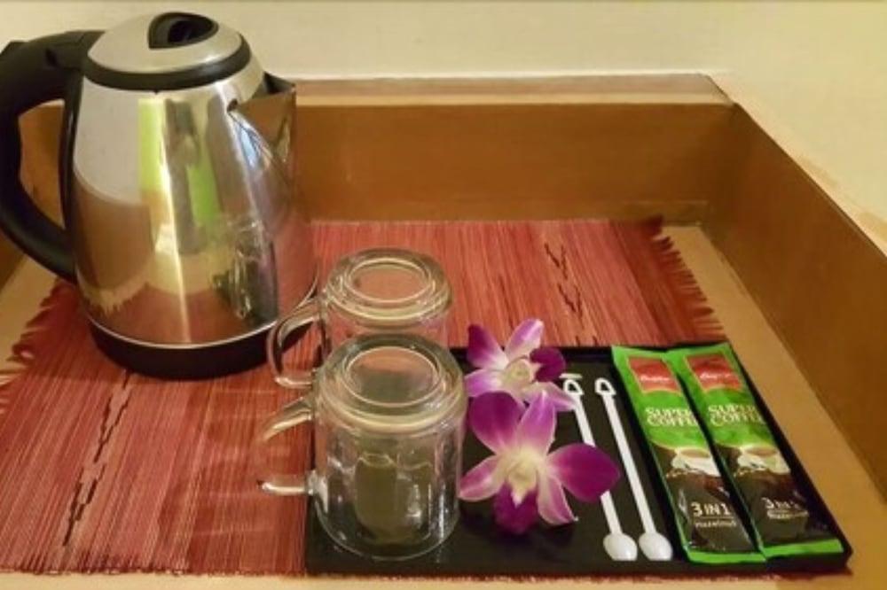 Kava viešbučio kambaryje