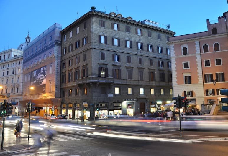 Navona Rooms, Rom, Exteriör