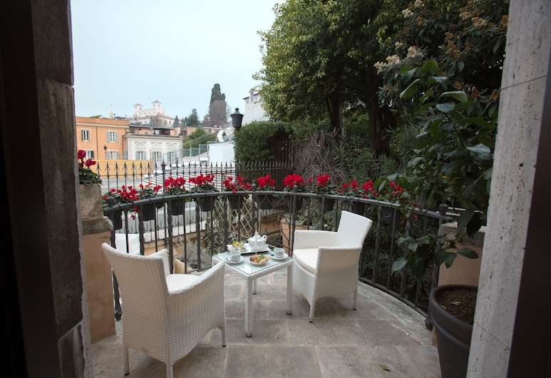Royal Suite Trinità dei Monti, Rome, Terrace/Patio