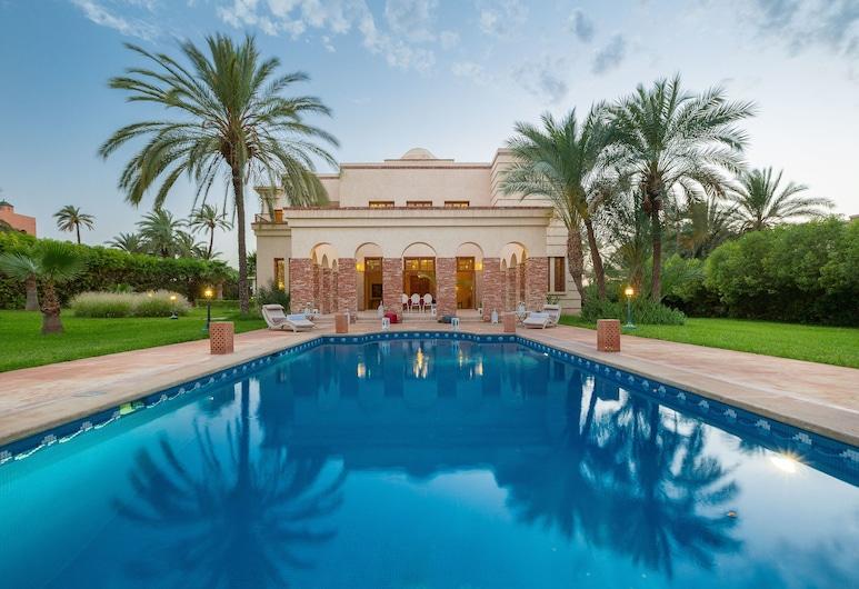 Domaine Rosaroum, Marrakech, Villa, 5 Quartos (Villa de Maître), Piscina privada