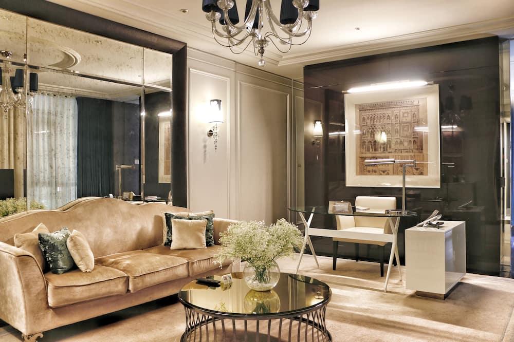 Suite clásica (Double) - Sala de estar