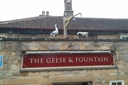 鵝與噴泉飯店/