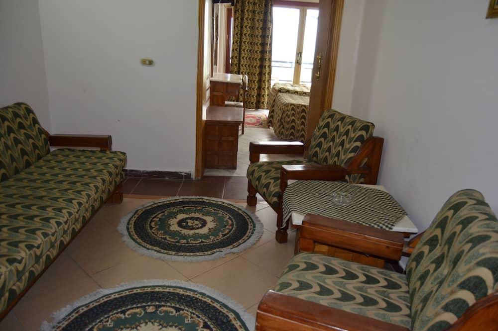 Luksusa numurs, skats uz jūru (Egyptian only) - Dzīvojamā istaba