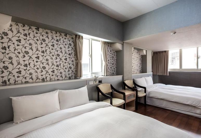 南海商務大飯店, 高雄市, 基本四人房, 非吸煙房, 客房