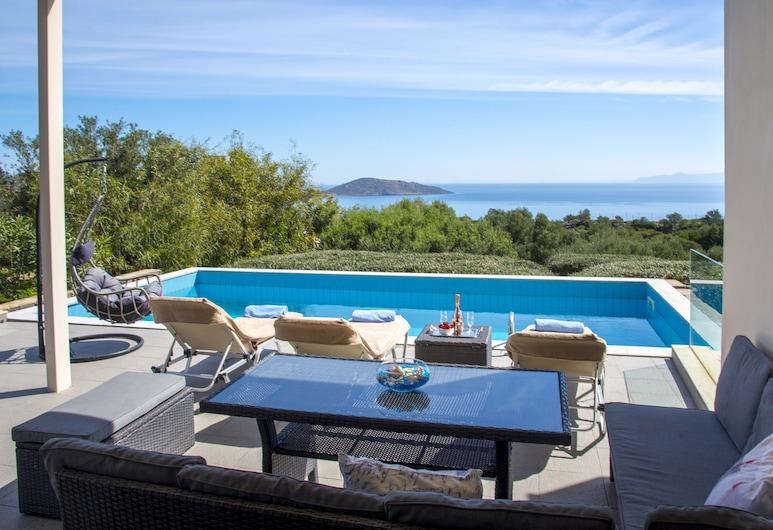 Villa Panorama, Agios Nikolaos, Outdoor Pool