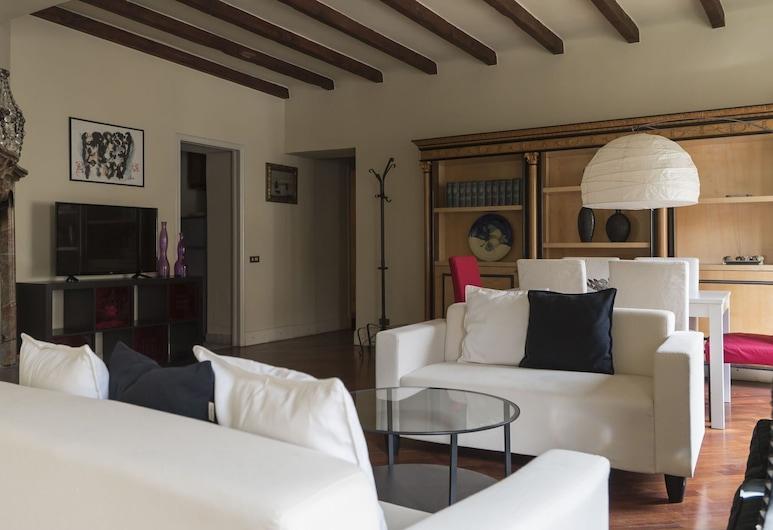 Italianway   - Argelati, Milaan, Deluxe appartement, 1 slaapkamer, Woonkamer