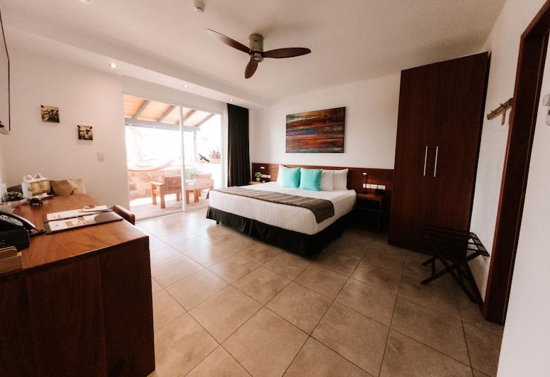 Hotel Cucuve, Puerto Ayora, Premium-herbergi - verönd, Útsýni úr herbergi