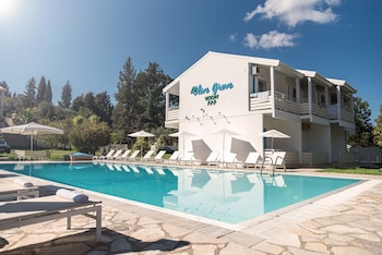 Selline näeb välja Olive Grove Resort, Kérkyra