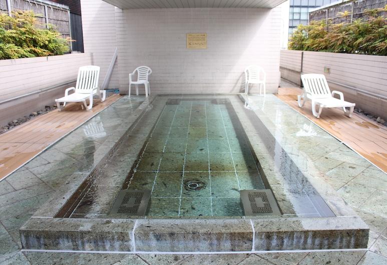カプセルホテル&サウナ北欧 - 男性専用, 台東区, 屋外スパ浴槽