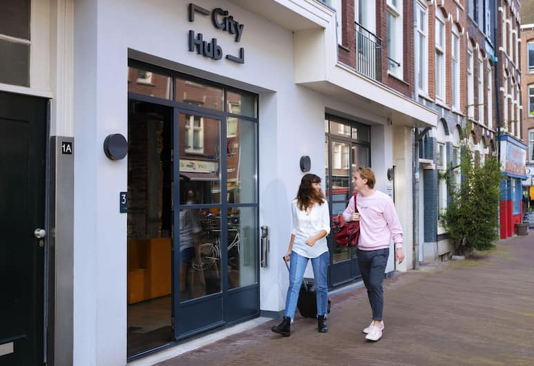 CityHub Amsterdam, Amsterdam, Entrée de l'hôtel