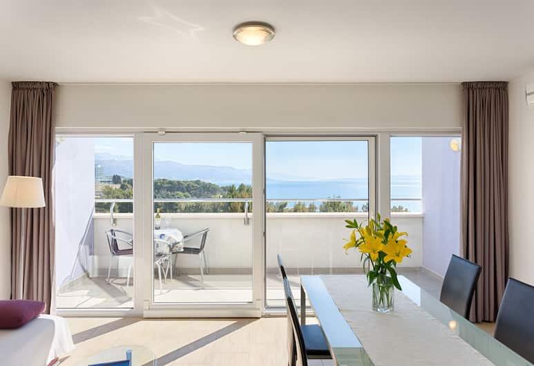 Adriatic Queen Villa, Split, Apart Daire, Balkon, Deniz Manzaralı, Oda Manzarası