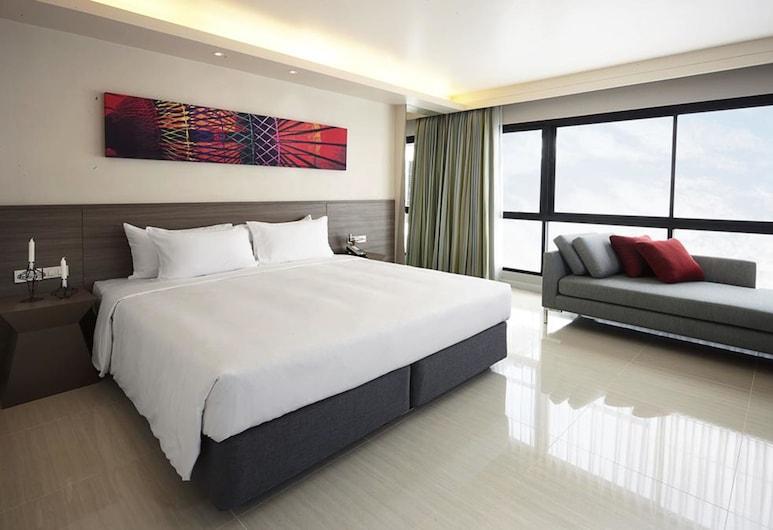 Praso @ Ratchada 12 Hotel, Bangkok, Deluxe-værelse, Værelse