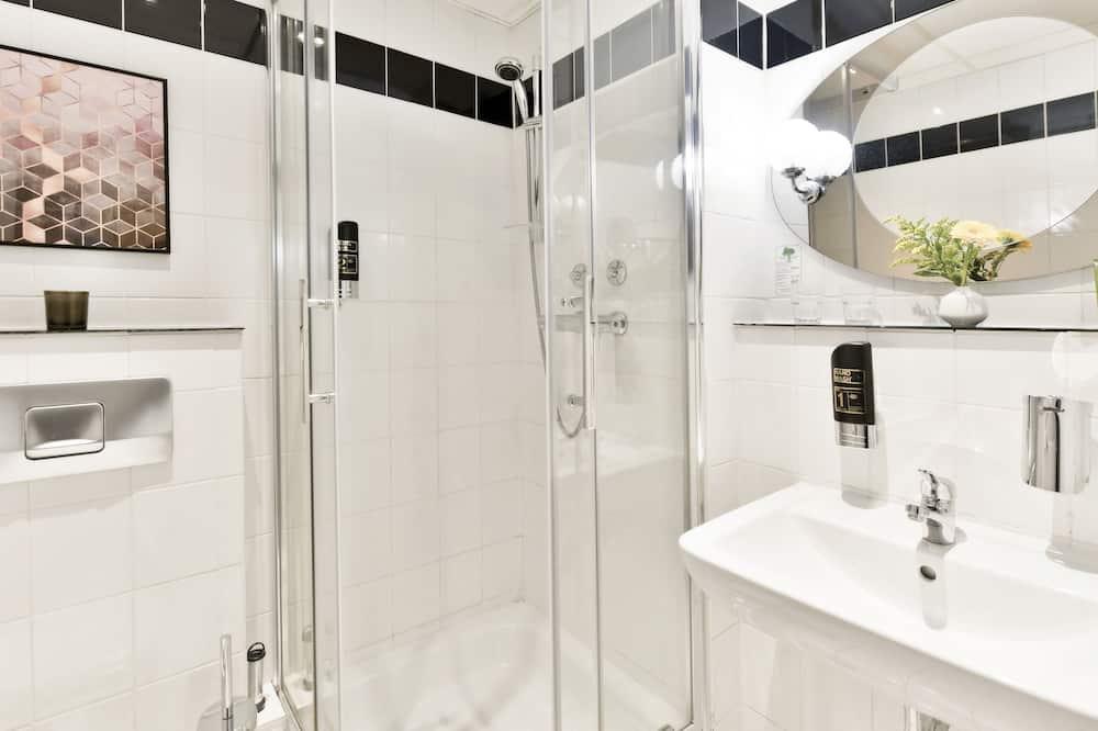Comfort-Einzelzimmer - Badezimmer