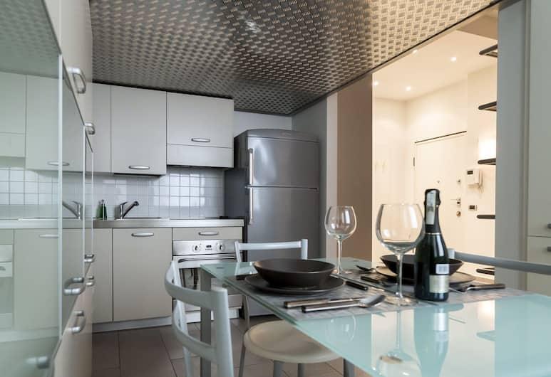Italianway Apartments - Mora, Milan, Studio, lantai mezzanine (Via Gian Giacomo Mora, 11/A), Dapur kecil pribadi