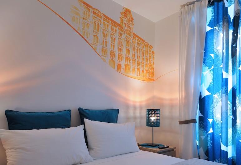 Residenza Corso Saba, Trieste, Habitación doble económica, 1 habitación (La Bora), Habitación