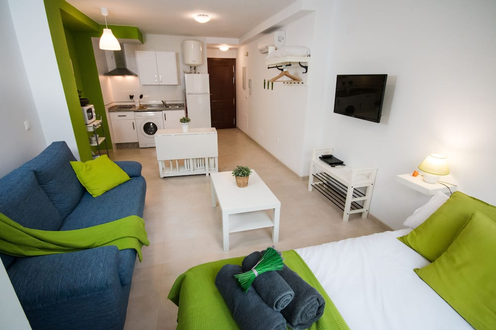 Comfort Apartment, 1 Double Bed with Sofa bed (Budget) - Living Area