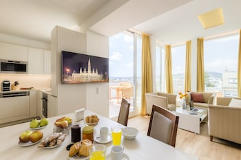 Viyana bölgesindeki Vienna Grand Apartments DANUBE resmi