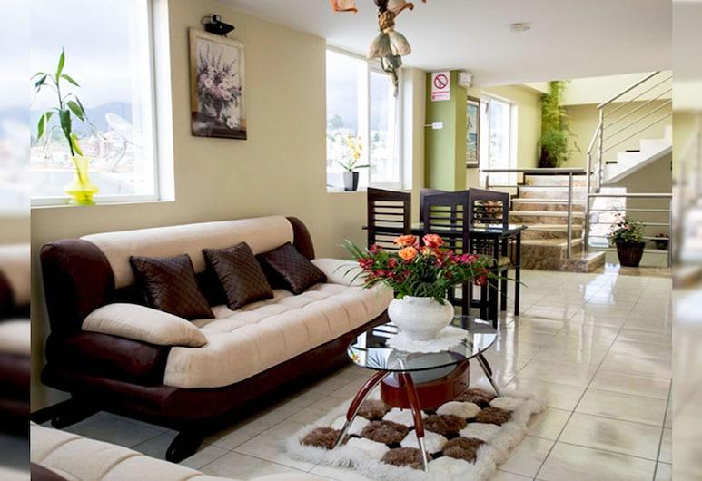 Hotel Las Gardenias, Cuenca, Lobby Sitting Area