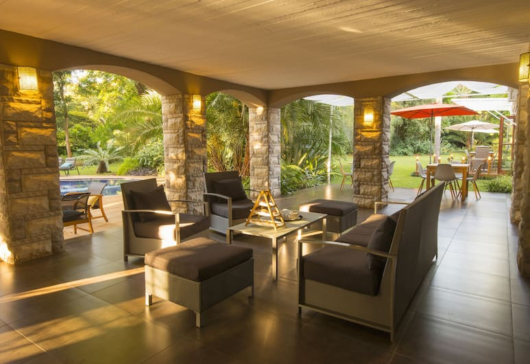 Sandalwood Lodge, Harare, Sittområde i lobbyn