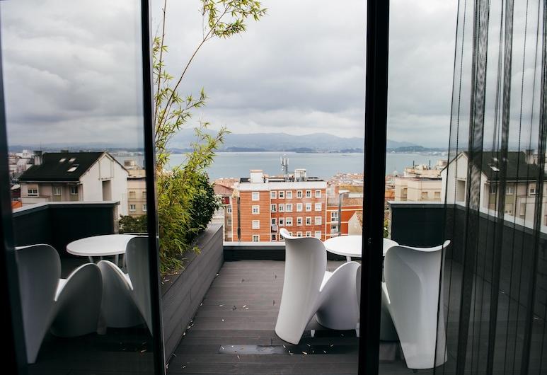 Hotel Art Santander, Santander, Blick vom Hotel