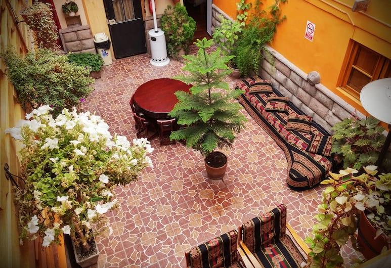 La Posada del Viajero, Cusco, Courtyard