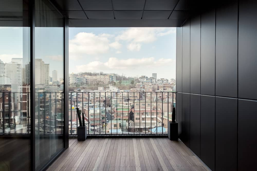 Apartmá typu Executive (King) - Výhled z pokoje