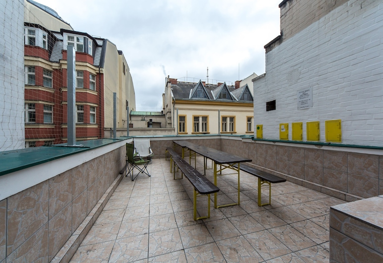 Hostel Orange, Prag, Teras/Veranda