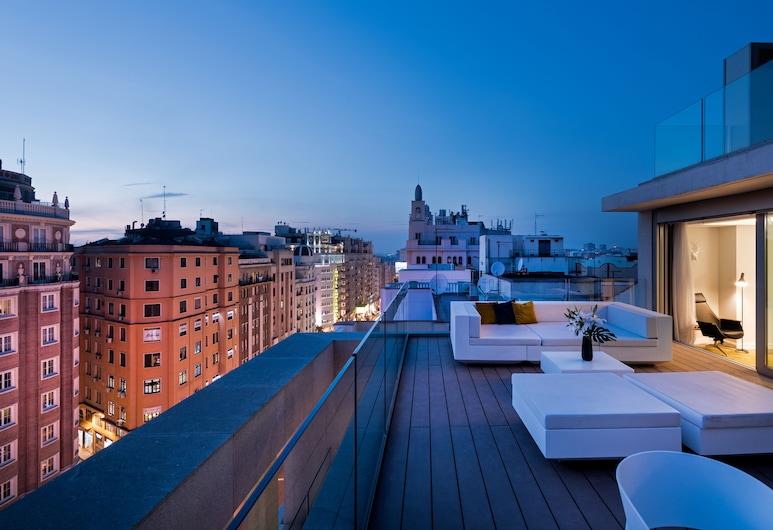 SmartRental Collection Gran Via Capital, Madrid, Maisonette, 3Schlafzimmer, Terrasse, Zimmer