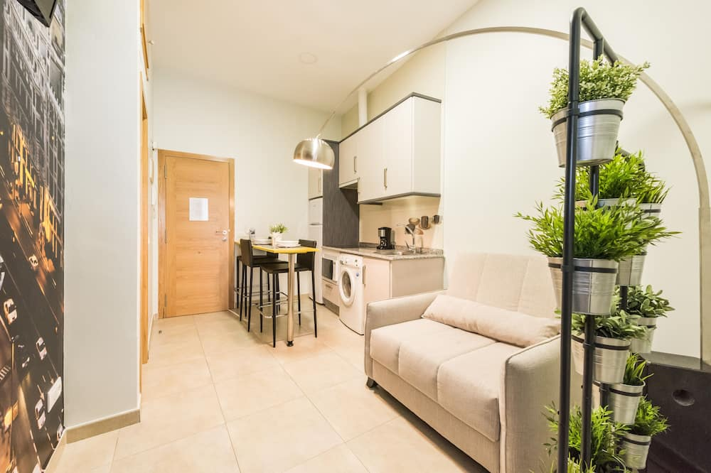 شقة - غرفة نوم واحدة (3 pax) - غرفة معيشة