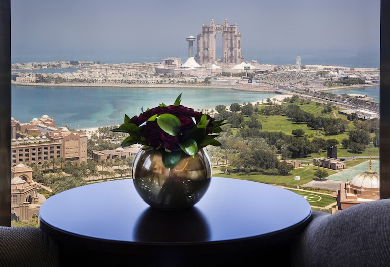 Bab Al Qasr Hotel, Abu Dhabi, Utsikt fra hotellet