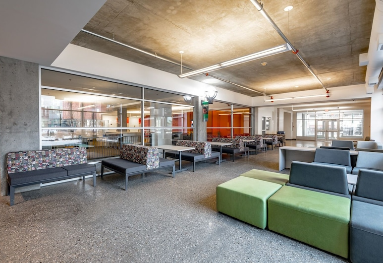 MacEwan University Residence, Edmonton, Lobby Sitting Area