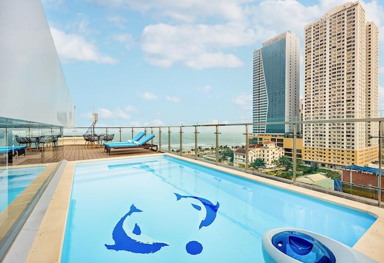 安納宅邸公寓飯店, 峴港, 高級客房, 1 間臥室, 海景, 客房